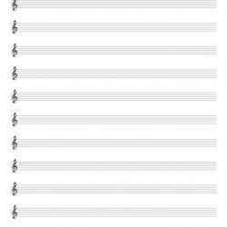 pentagrama-para-imprimir-clave-violin-lineas-estrechas